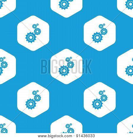 Geras hexagon pattern
