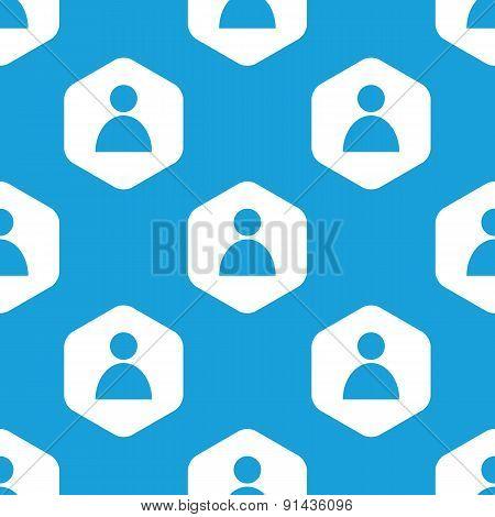 User hexagon pattern