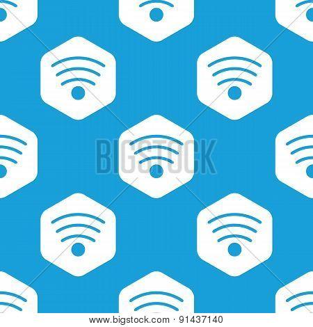 Wi-Fi hexagon pattern