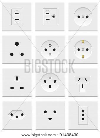 Electric Sockets Set