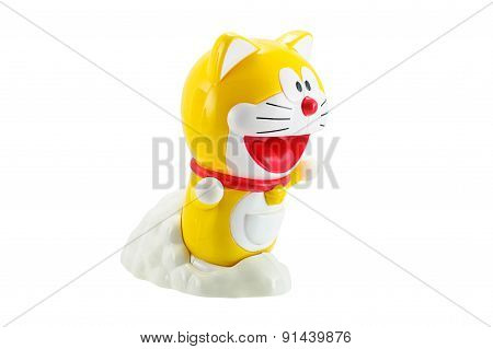 Yellow Doraemon A Robot Cat Protagonist Of Doraemon Japannese Animation Cartoon.