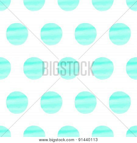 Turquoise Spotted Pattern