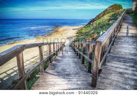 Ramp To The Beach
