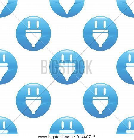 Plug sign pattern