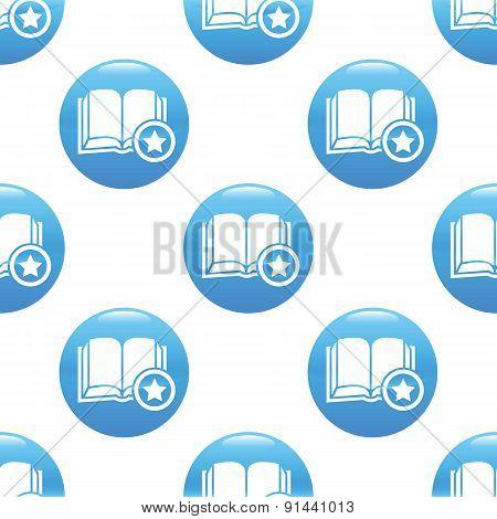 Favorite book sign pattern