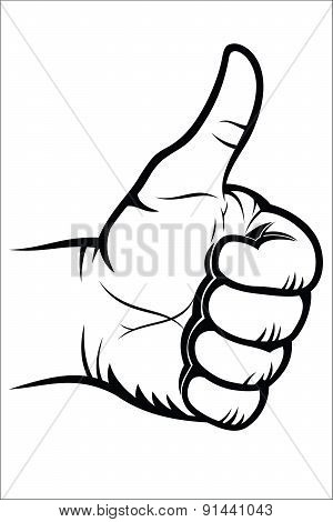 Hand gesture - Good