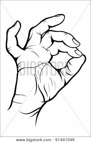 Hand gesture - Okay