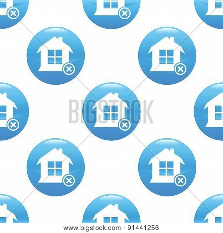 Remove house sign pattern