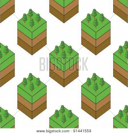 Piece of wood pattern