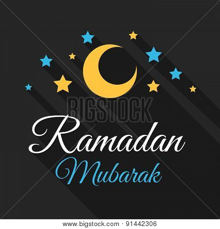 Ramadan Mubarak Greeting Background