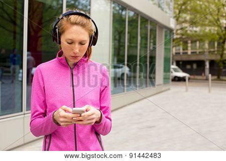 phone and music