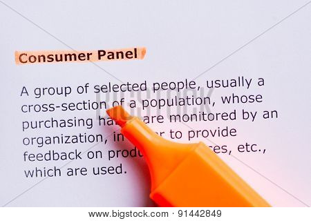 Consumer Panel