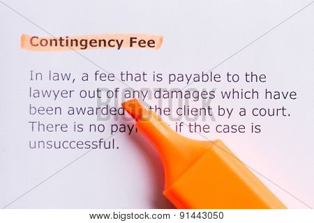 Contigency Fee