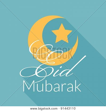 Eid Mubarak Greeting Background