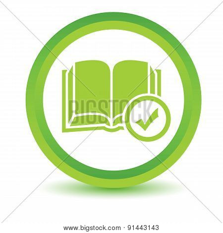 Select book volumetric icon