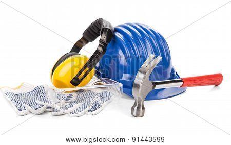 Safety helmet gloves