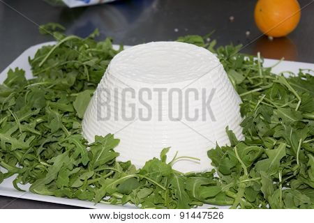 Fresh Ricotta Of Sheep