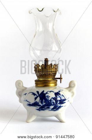Porcelain oil Lamp