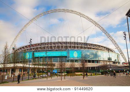 Wembley Stadium In London, Uk