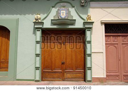 Door in Granada, Nicaragua