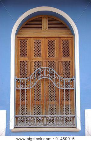 Window in Granada, Nicaragua