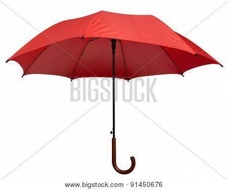 Umbrella - Red Isolated