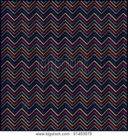 Repeating Abstract Zigzag Eometric Vector Background