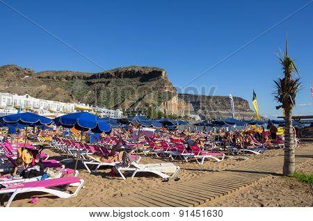 Beach Of Puerto De Mogan
