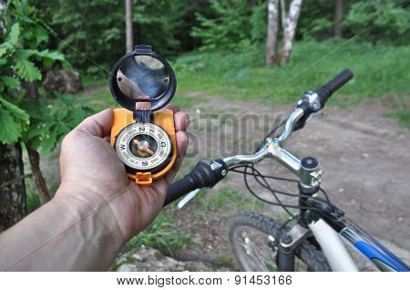Journey By Bike With A Compass.
