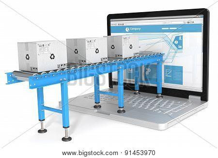 Online Distribution.