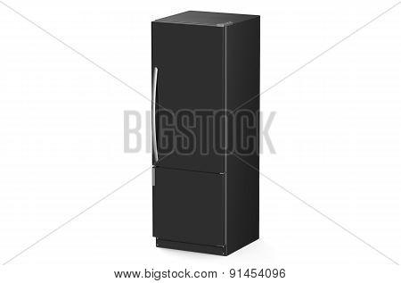 Modern Black Refrigerator