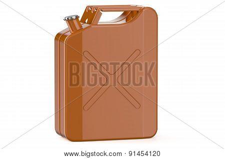 Orange Metallic Jerrycan
