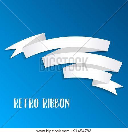 Paper Ribbon Banner