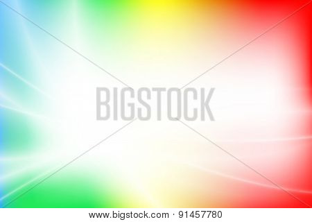 Colorful light gradient abstract background with copy space