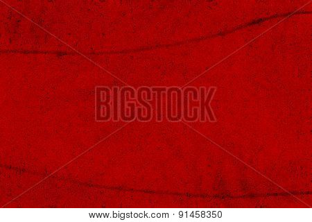 Blood red grunge background with spatters
