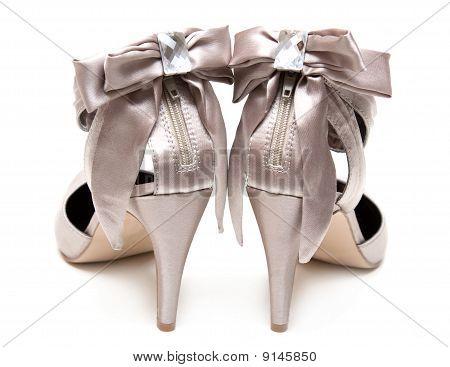Feminine Satin Loafers