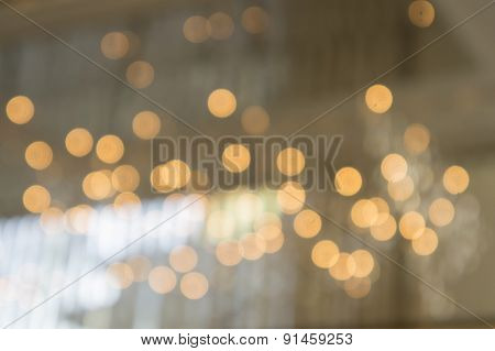 Light Blurred Background Reflection Concept