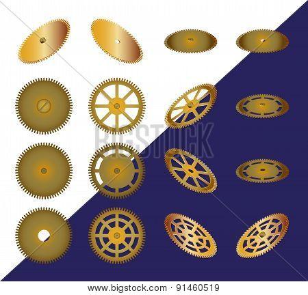 Set Of Cogwheels.