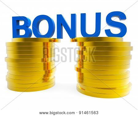Cash Bonus Represents For Free And Award