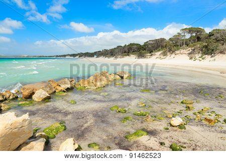 Maria Pia Beach On A Clear Day