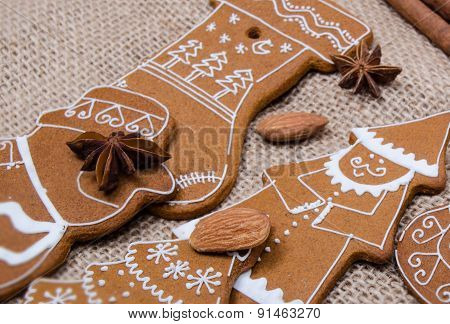 Baked Gingerbread