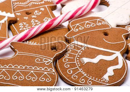Gingerbread Christmas Figures