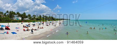 Naples, Florida Beach Scenery