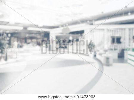 Blurred background store