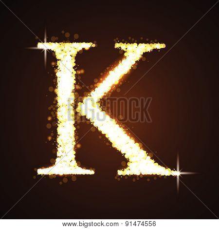 Alphabets K