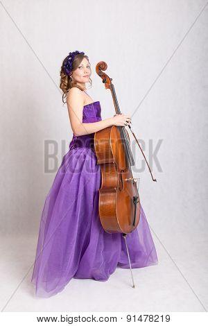 Musician With Cello