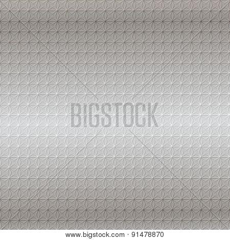 Gray Star Metallic Background