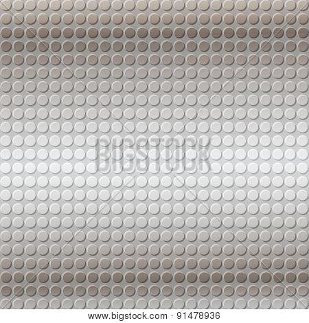 Gray Emboss Metallic Background