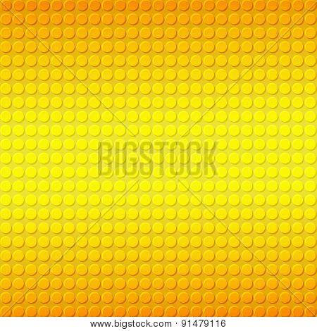 Yellow Embossing Metallic Background