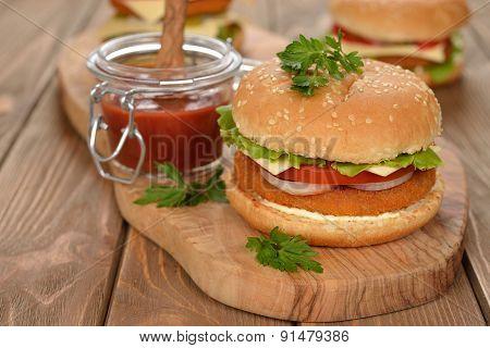 Fresh Cheeseburger
